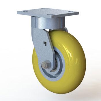 طراحی و مدلسازی چرخ پایه با سالیدورک