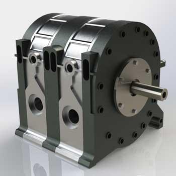 طراحی و مدلسازی موتور وانکل با سالیدورک
