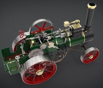 طراحی و مدلسازی تراکتور با سالیدورک