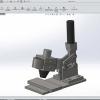 طراحی و مدلسازی کلمپ با سالیدورک