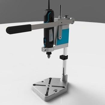 طراحی و مدلسازی پایه دریل با سالیدورک