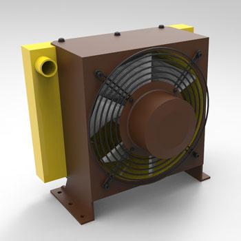 طراحی و مدلسازی سیستم خنک کاری سیال با سالیدورک