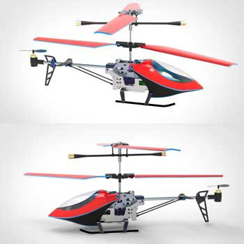 طراحی و مدلسازی هلیکوپتر با سالیدورک