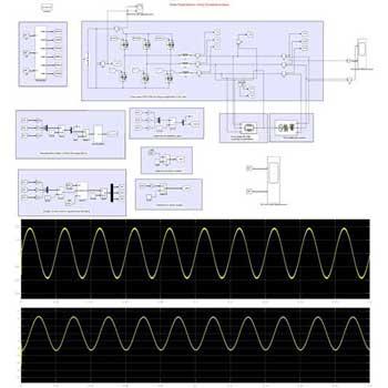 شبیه سازی استاتکام (STATCOM) سه فاز با کنترل DQ در متلب