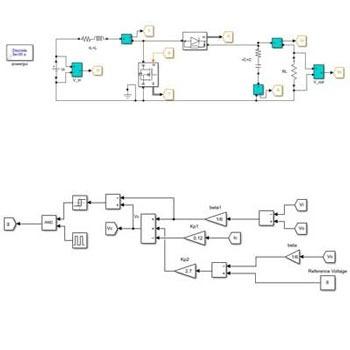 شبیه سازی کنترل مد لغزشی مبدل بوست DC به DC در متلب