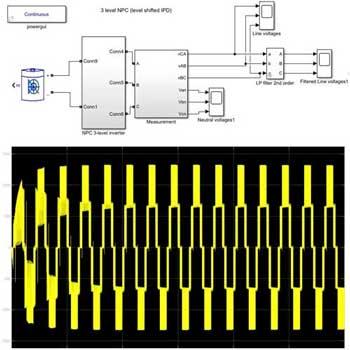 شبیه سازی توپولوژی مبدل های چند سطحی مختلف برای کاربرد ذخیره انرژی باتری در متلب
